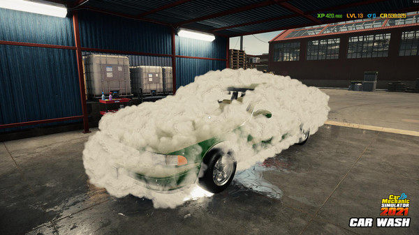 汽车修理工模拟2021手机版图1