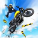 跳跃摩托车